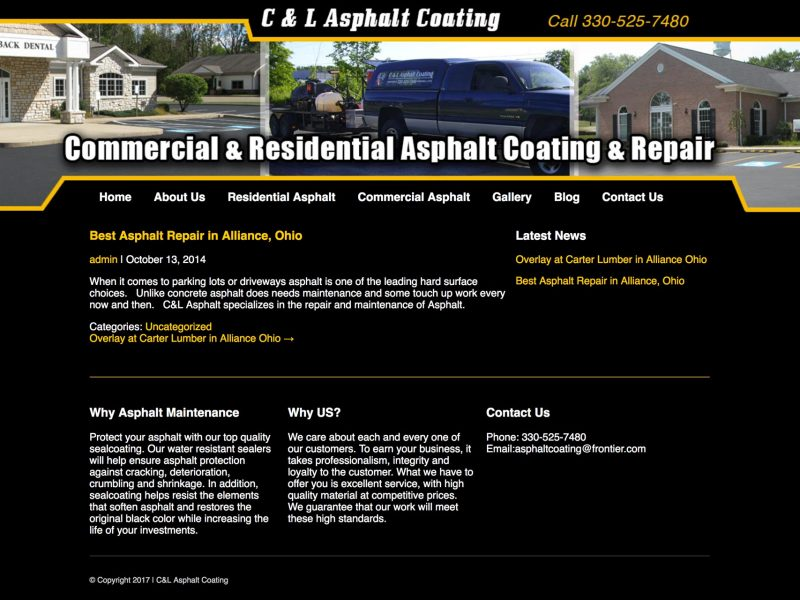 C & L Asphalt Coating